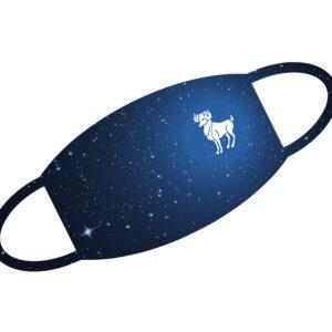 Stoffmaske - Sternzeichen Widder