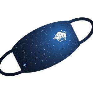 Stoffmaske - Sternzeichen Stier