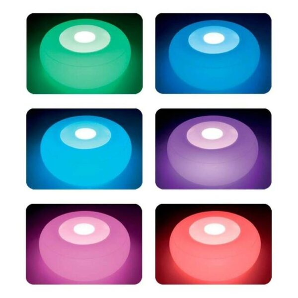 LED-Sitzkissen – aufblasbar und wasserdicht