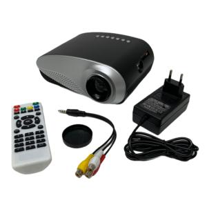 Mini-Beamer mit HDMI, VGA, SD-CARD und USB