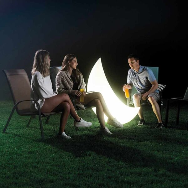 Halbmond LED-Lampe – aufblasbar und wasserdicht