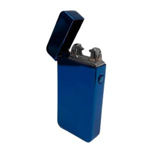 USB Feuerzeug – metallicblue