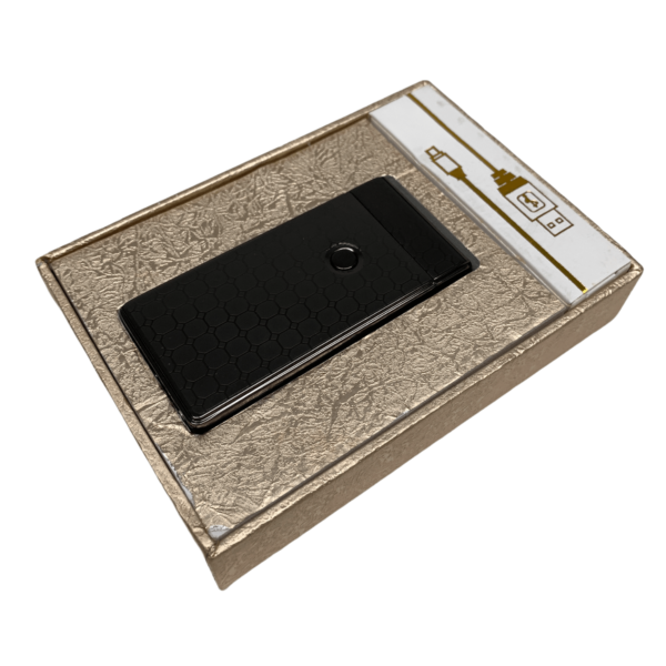 USB Feuerzeug – Platin gemasert