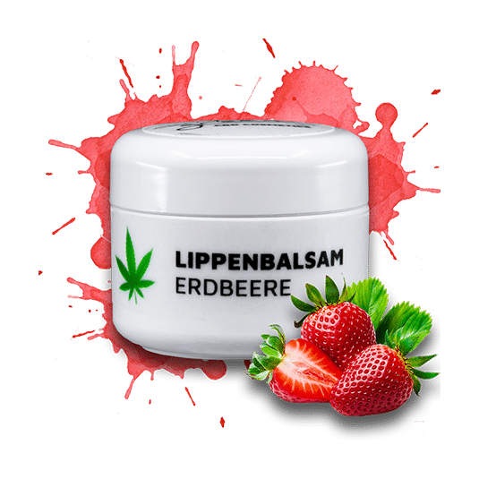 Lippenbalsam – Marry Green - Erdbeere & CBD – 5ml