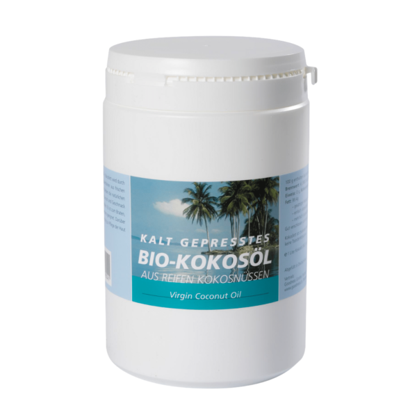 Bio-Kokosnussöl - goodness - Kokosöl kaltgepresst - 1kg