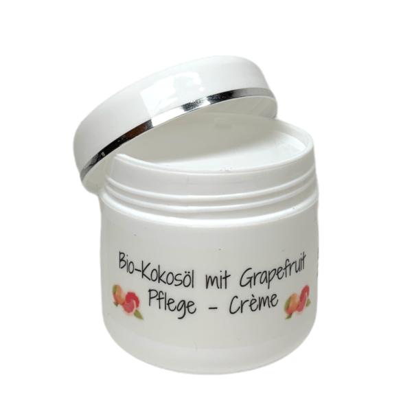 Pflegecreme - goodness - Bio-Kokosöl / Grapefruit - 50ml