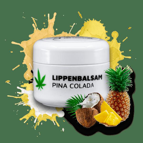 Lippenbalsam – Marry Green - Pina Colada & CBD – 5ml