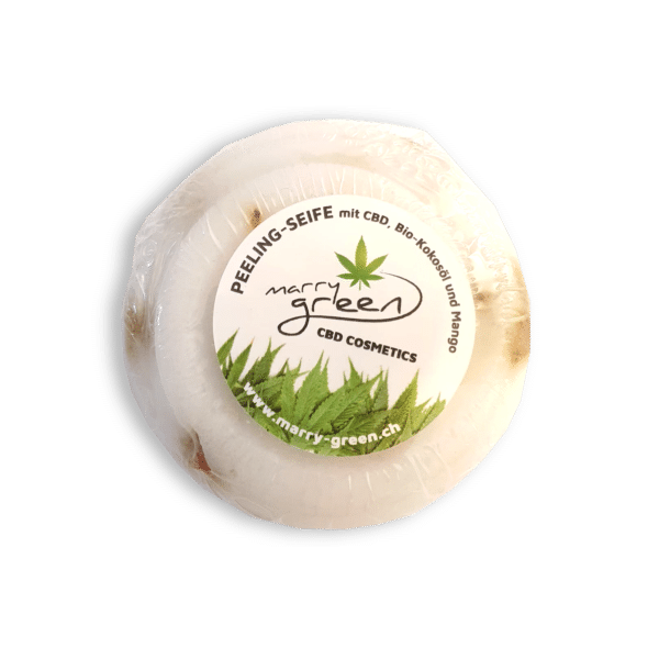Peelingseife - Marry Green - Mango & CBD - 100g