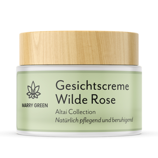 Gesichtscreme - Marry Green - Wilde Rose & CBD - 50ml