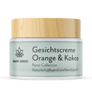Gesichtscreme - Marry Green - Orange, Kokos & CBD - 50ml