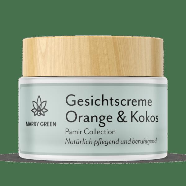 Gesichtscreme - Marry Green - Orange, Kokos & CBD - 50ml