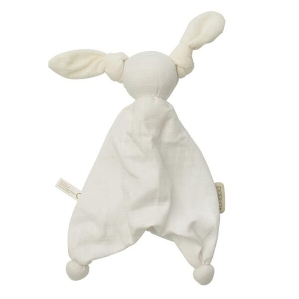 Kuscheltier - Hoppa - Floppy Muslin - white