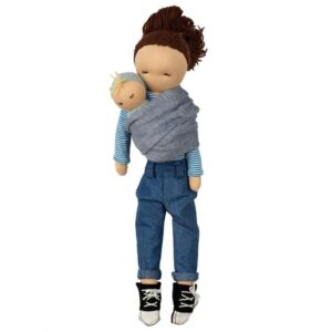 Puppe - Hoppa - Lisa und Lilly Doll - 40 cm